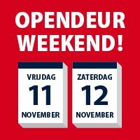 Opendeur weekend bij Verada, V-keukens en Gardea op 11 en 12 november